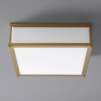 Oxygen 3-683-40 Modulo Contemporary Aged Brass LED 16 Ceiling Lighting