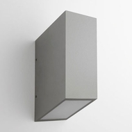 Oxygen 3-701-16 Uno Modern Grey LED Outdoor Wall Sconce Light