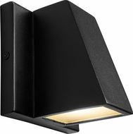 Oxygen 3-708-15 Titan Contemporary Black LED Outdoor Wall Sconce