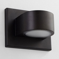 Oxygen 3-721-22 Eris Contemporary Oiled Bronze LED Exterior Wall Sconce Lighting