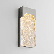 Oxygen 3-725-24 Nitro Modern Satin Nickel LED Exterior Lighting Wall Sconce
