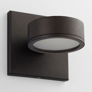 Oxygen 3-726-22 Ceres Contemporary Oiled Bronze LED Exterior Lighting Wall Sconce