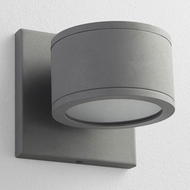 Oxygen 3-727-16 Ceres Modern Grey LED Outdoor Wall Lighting Sconce