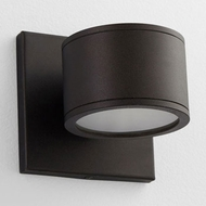 Oxygen 3-727-22 Ceres Contemporary Oiled Bronze LED Exterior Wall Sconce Lighting