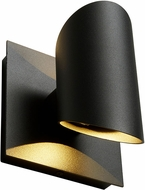 Oxygen 3-733-15 Caliber Contemporary Black LED Exterior Wall Sconce Lighting