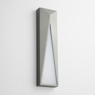 Oxygen 3-736-16 Elif Contemporary Grey LED Exterior Wall Lighting