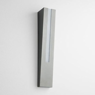 Oxygen 3-739-16 Karme Contemporary Grey LED Exterior Lamp Sconce