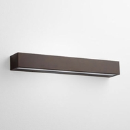 Oxygen 3-742-22 Maia Modern Oiled Bronze LED Outdoor 23 Wall Light Sconce