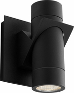 Oxygen 3-746-15 Razzo Contemporary Black LED Outdoor Wall Sconce Light