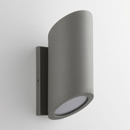 Oxygen 3-750-16 Realm Contemporary Grey LED Exterior Wall Lighting Fixture