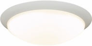 PLC 1110WH Max Modern White LED 16  Ceiling Light