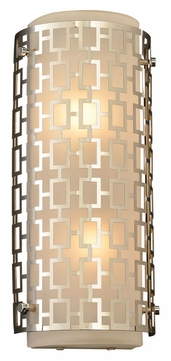 PLC 12151-PC Ethen Polished Chrome Modern Wall Sconce Light