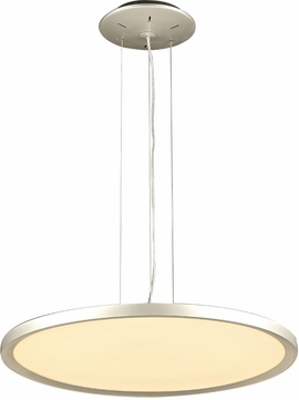 PLC 14844AL Thin Contemporary Aluminum LED Pendant Lamp