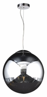 PLC 14855-PC Mercury Polished Chrome Contemporary Hanging Light - Small