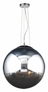 PLC 14857-PC Mercury Polished Chrome Drop Ceiling Lighting - Large