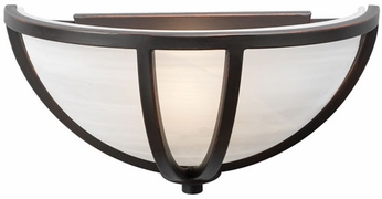 PLC 14860-ORB Highland Wall Sconce in Oil Rubbed Bronze