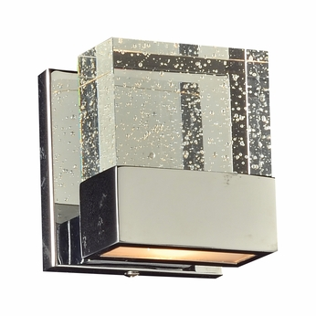 PLC 1651PC Regis Contemporary Polished Chrome Wall Sconce