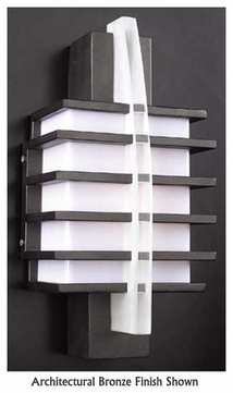 PLC 16602 Carre 16 Contemporary Outdoor Wall Sconce