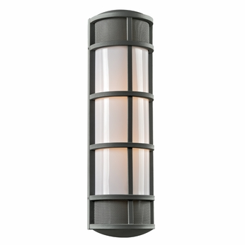 PLC 16673BZ Olsay Modern Bronze Outdoor Wall Sconce Light