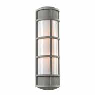 PLC 16673SL Olsay Contemporary Silver Exterior Wall Sconce