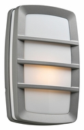 PLC 1734SL Aston Silver Exterior Sconce Lighting