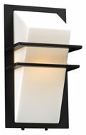 PLC 1741BZ Juventus Outdoor Wall Light - Bronze