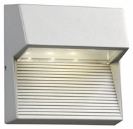 PLC 1771SL Faro Reversible Silver Exterior Light Sconce
