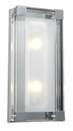PLC 18148 Corteo Contemporary 2 Light Wall Sconce