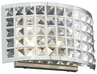 PLC 18181 Jewel Contemporary Wall Sconce - 7 inches tall