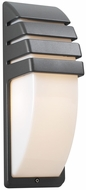 PLC 1832-BZ Synchro Outdoor Wall Light in Architectural Bronze