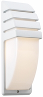 PLC 1832-WHT Synchro Outdoor Wall Light in White