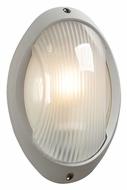 PLC 1866-SL Alonzo Contemporary Silver Exterior Sconce