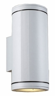 PLC 1884-WH Meridian Wall Outdoor Light in White