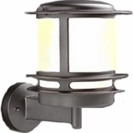 PLC 1894-BK Tusk High Exterior Lighting Wall Fixture in Black
