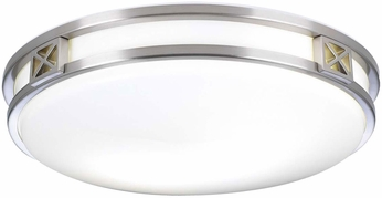 PLC 1955SNLED Serena Contemporary Satin Nickel LED Ceiling Lighting
