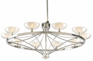 PLC 1981-PC Carrousel 26 inch Frost Chandelier