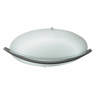 PLC 21016-SN Enzo Contemporary Satin Nickel 16  Home Ceiling Lighting