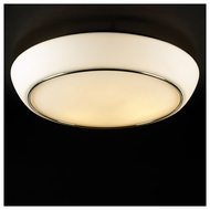 PLC 21026 Centrum Large Contemporary Semi-Flush Ceiling Light