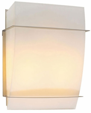 PLC 21064-SN Enzo II Wall Sconce in Matte Opal Glass