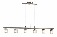 PLC 21086-SN Julius Contemporary Pendant Light