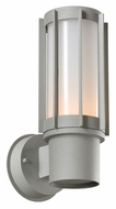 PLC 2113-SL Nauta Outdoor Silver Exterior Wall Lighting Fixture