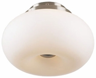 PLC 21141-SN Tessera Flushmount Ceiling Light with Matte Opal Glass