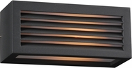 PLC 2242BZLED Madrid Modern Bronze LED Exterior Wall Sconce Lighting