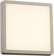 PLC 2258SL Oliver Contemporary Silver LED Outdoor Wall Mounted Lamp