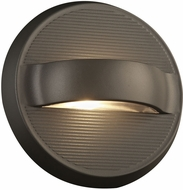 PLC 2262BZ Fiona Modern Bronze LED Exterior Wall Light Sconce