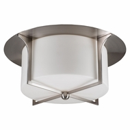 PLC 23018-SN Pixel Contemporary Satin Nickel Overhead Light Fixture