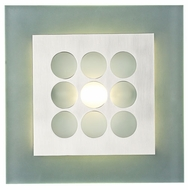 PLC 2304-SN Robusto Wall Sconce in Satin Nickel