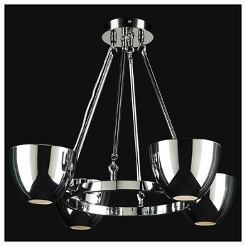 PLC 23042 Precidio 4-light Modern Style Mini Chandelier
