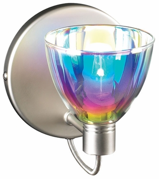 PLC 247-SN Verano Wall Sconce in Dichroic Glass