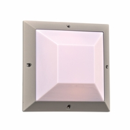 PLC 2717SL Harrison Contemporary Silver Outdoor Wall Light Sconce